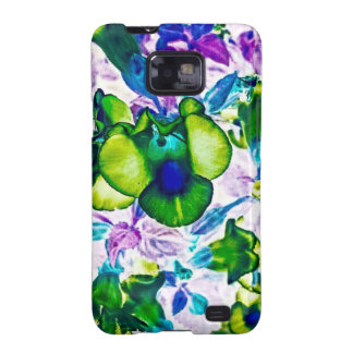 Wilderness Flowers Galaxy SII Cases