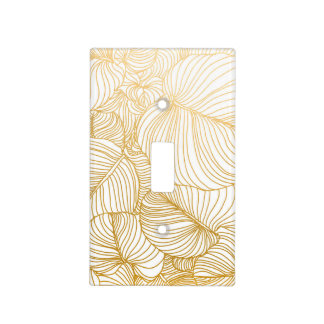 Wilderness Gold Light Switch Cover