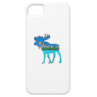 Wilderness Moose iPhone 5 Covers