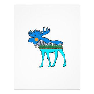 Wilderness Moose Letterhead
