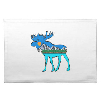 Wilderness Moose Placemat