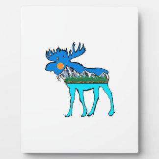Wilderness Moose Plaque