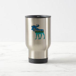 Wilderness Moose Travel Mug