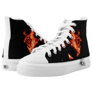 Wildfire hightop rubber soled sneakers