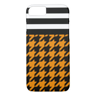 Wildfire Houndstooth w/ Stripes 2 iPhone 7 Case