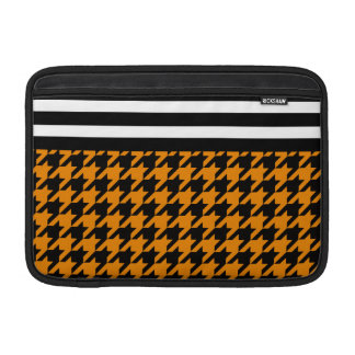 Wildfire Houndstooth w/ Stripes 2 MacBook Sleeve