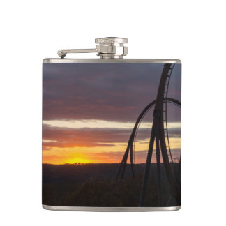 Wildfire Sunset Flask
