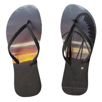 Wildfire Sunset Flip Flops