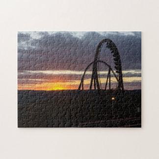 Wildfire Sunset Jigsaw Puzzle