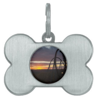 Wildfire Sunset Pet Name Tag