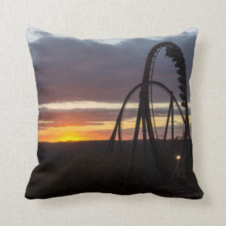 Wildfire Sunset Throw Pillow
