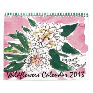 Wildflower 2013 calendar