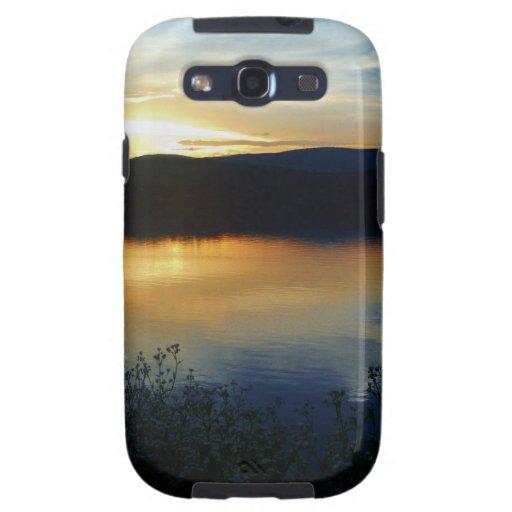 Wildflower, Blue sunset Samsung Galaxy SIII Covers