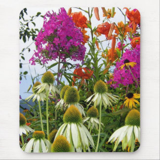 Wildflower Bouquet Mouse Pad