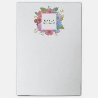 Wildflower Bouquet Personalized Post-it® Notes