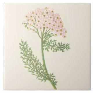 Wildflower Ceramic Kitchen Tile Yarrow