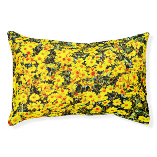 Wildflower Collection Indoor Small Dog Bed
