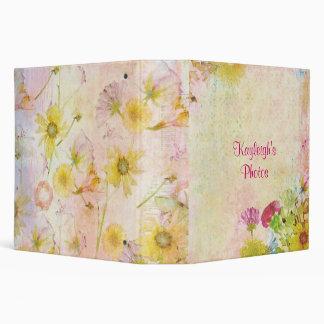 Wildflower Dreams Personalized Binder