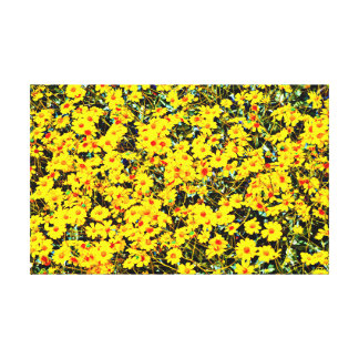Wildflower In Boost Canvas Wall Decor