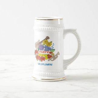 wildflower party mug