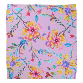 Wildflower Riot Head Kerchiefs