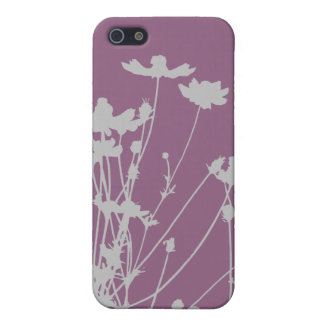 Wildflower Silhouette Case For iPhone 5/5S