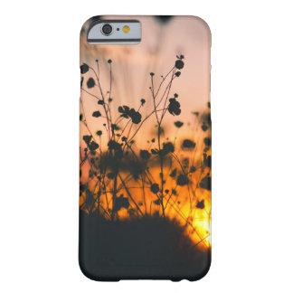 Wildflower Silhouette Phone Case