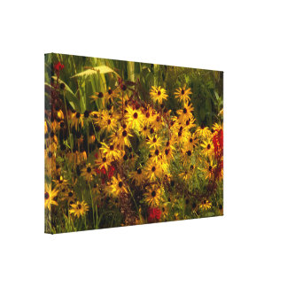 Wildflower Wrapped Canvas
