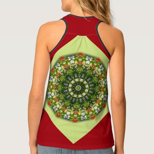 Wildflowers 01.04, Flower-Mandala Tank Top