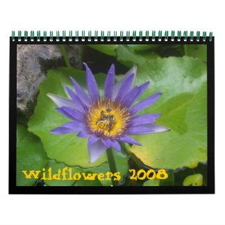 Wildflowers 2008 calendars