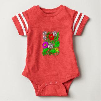 Wildflowers 2 baby bodysuit