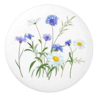 Wildflowers 2 ceramic knob