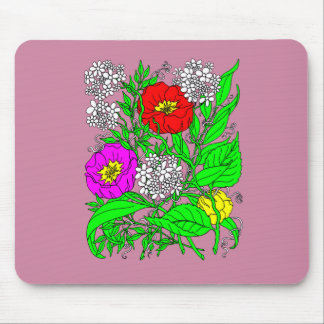 Wildflowers 2 mouse pad