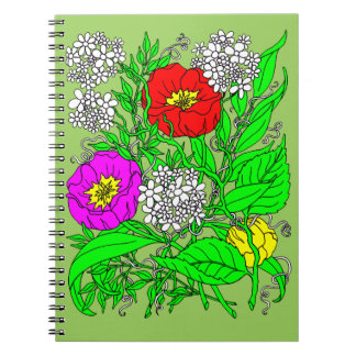 Wildflowers 2 notebooks