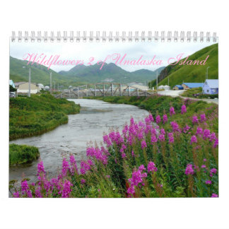 Wildflowers 2 of Unalaska Island Wall Calendar