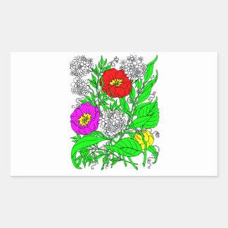 Wildflowers 2 sticker