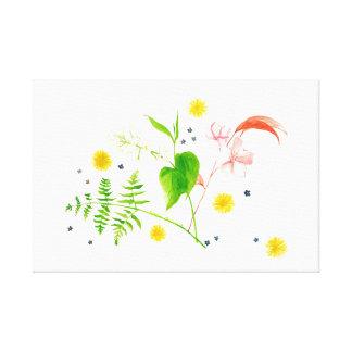 wildflowers canvas