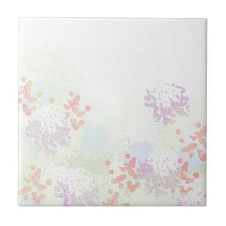 Wildflowers Ceramic Tile