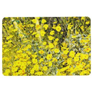 Wildflowers Custom Floor Mat