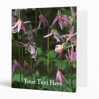 Wildflowers - Fawn Lilies Vinyl Binders