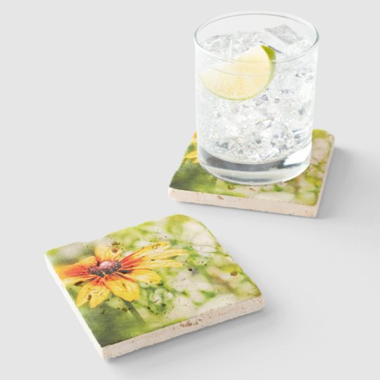 Wildflowers of Colorado Stone Coaster