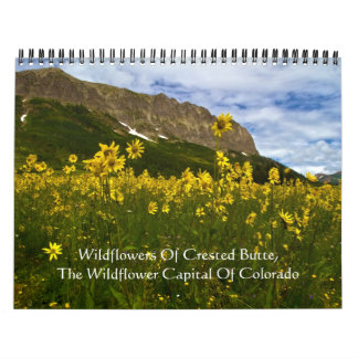 Wildflowers Of Crested Butte Calendars