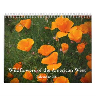 Wildflowers of the American West -2011 Calendar