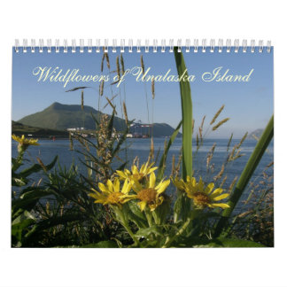 Wildflowers of Unalaska Island Calendar