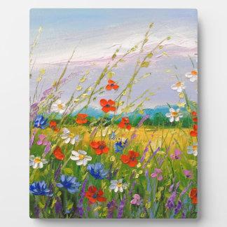 Wildflowers Plaque