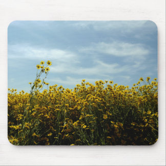 Wildflowers Sunflowers Mouse Pad