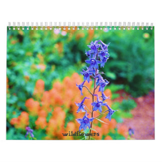 Wildflowers Wall Calendar
