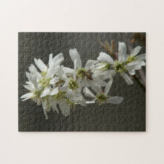 Wildflowers with Hoverfly, Photo Puzzle. Jigsaw Puzzle