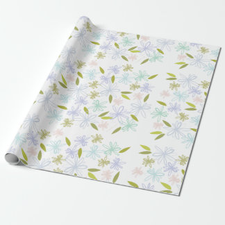 Wildflowers Wrapping Paper (linen)