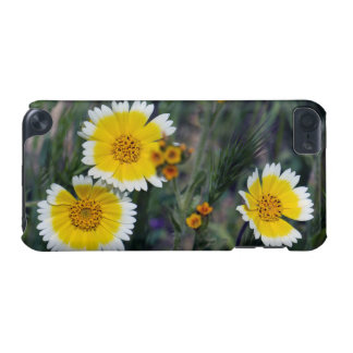 Wildflowers Yellow and White Sunflowers iPod Touch (5th Generation) Cover
